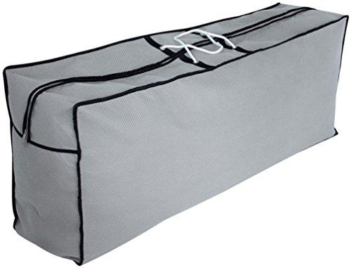 Kissenbezüge Grau Euro (Euro Trail Tragetasche für 4 Gartenmöbelauflagen SFS - atmungsaktiv (125 x 80 x 80 cm))