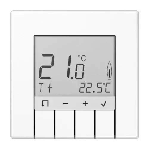 Jung serie-ls-Thermostat Standard serie-ls mit Display weiß alpin