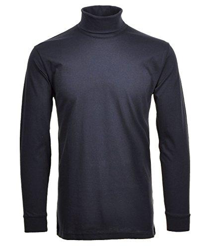 RAGMAN Rollkragen Pullover Baumwoll-Jersey S, Marine-070 - Jersey Lange Ärmel Pullover