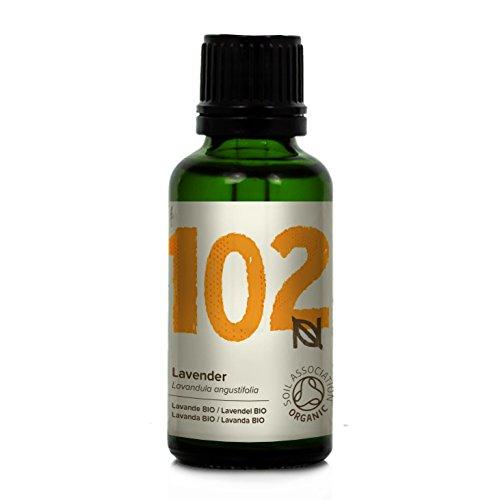 Naissance olio di lavanda fine biologico - olio essenziale puro al 100% - 30ml - puro, naturale, certificato biologico, cruelty free, vegan e non diluito - rilassante e rinvigorente