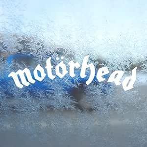 Aufkleber Motorhead Rock Band White Decal Car Window Laptop White Sticker Auto