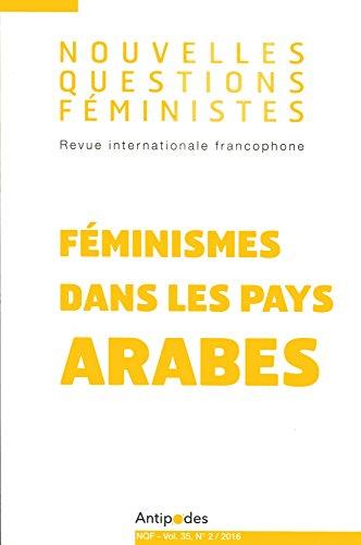 Nouvelles Questions Feministes, Vol. 35(2)/2016. Feminismes Dans les