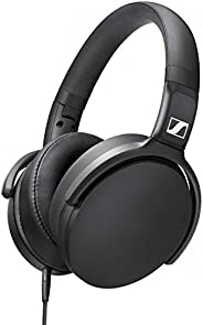 Sennheiser HD 400S Closed Back, Around Ear Headphone with Smart Remote for Calls/Music