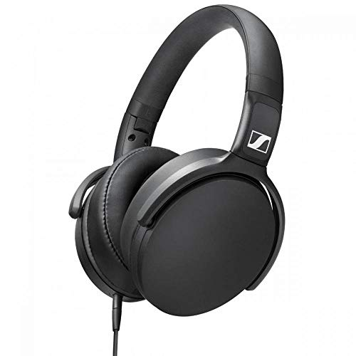 Sennheiser hd 400s cuffia microfonica circumaurale con comandi remoti, jack 3,5 mm, nero