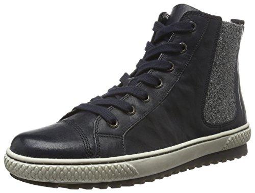 Gabor Shoes 53.755 Damen Derby Schnürhalbschuhe Blau (Ocean 56)