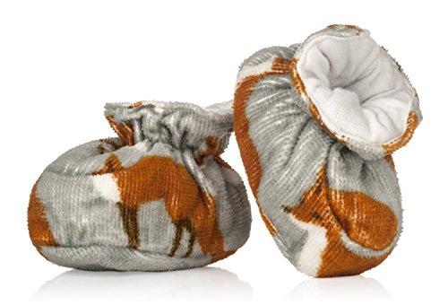 Milk Barn , Chaussures souples pour bébé (fille) Gris Fuchs Fuchs