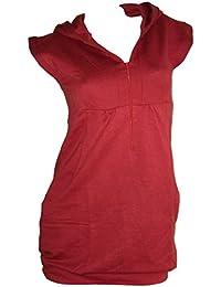 Chillytime Sweatkleid Kleid Strandkleid Gr. 34 Rost Orange