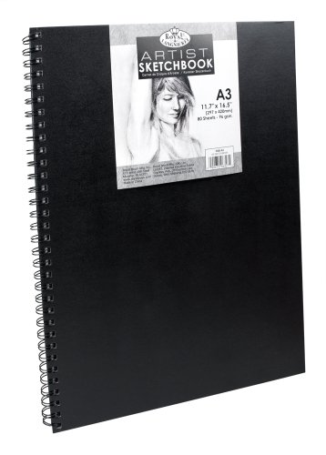 Bloc Muguruza, Royal & Langnickel RSB-A3, Cuaderno de dibujo (A3, tapa dura)