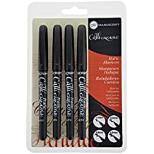 Callicreative Italic Marker MM6409 4.8 mm Medium Fine Extra Broad Marker - Black