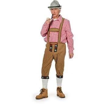 Pantalon Tyrolien suédine