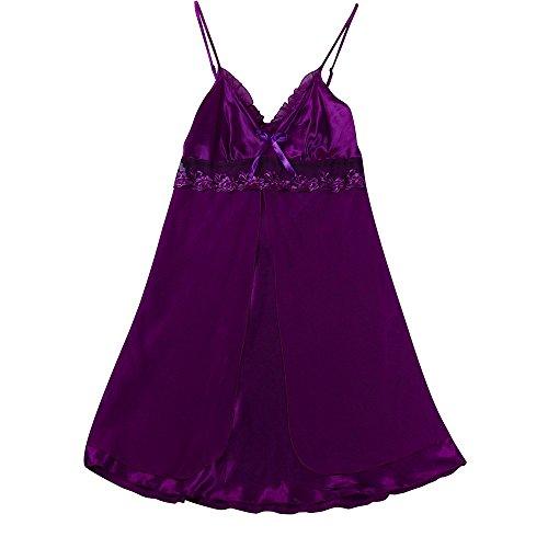 Ulanda-EU -  Babydoll  - Donna Purple
