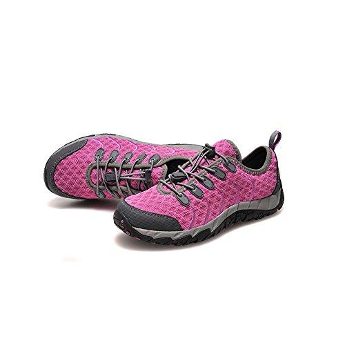 fereshte ,  Unisex Erwachsene Biker Boots Suxi Purple