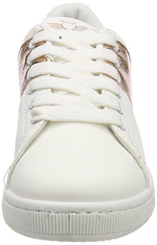 Fritzi aus Preußen Damen Tessa Metallic Stripe Sneaker Braun (Copper)