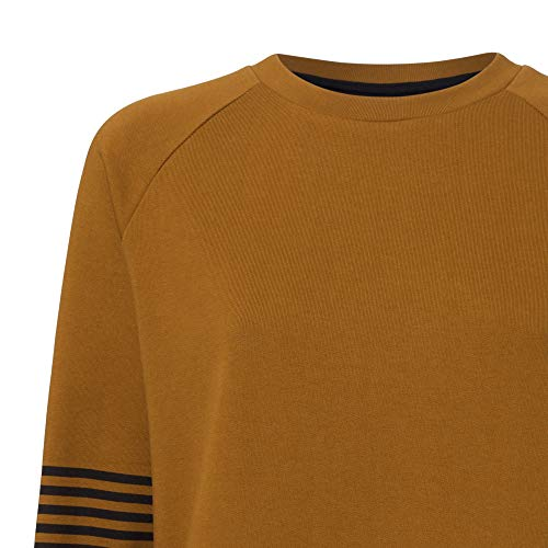 THOKKTHOKK Damen Sweatshirt Olivgrün Bio Fair, Größe:L - 4