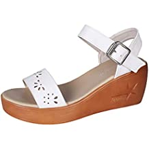 Sandalias Romanas Chanclas para Mujer Cuña Sandalia 2019 Zapato de Tacón con Suela Gruesa Romano 6.5