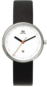 Reloj de caballero Danish Design Martin Larsen 3314268 de cuarzo, correa de piel color negro (con fecha) de Danish Design