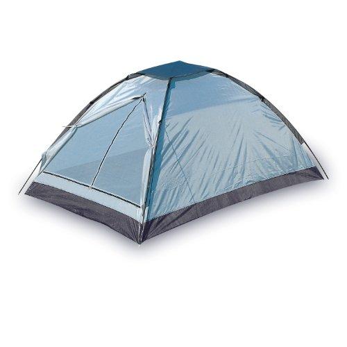 Monodome-Zelt Personen Blau-Schwarz