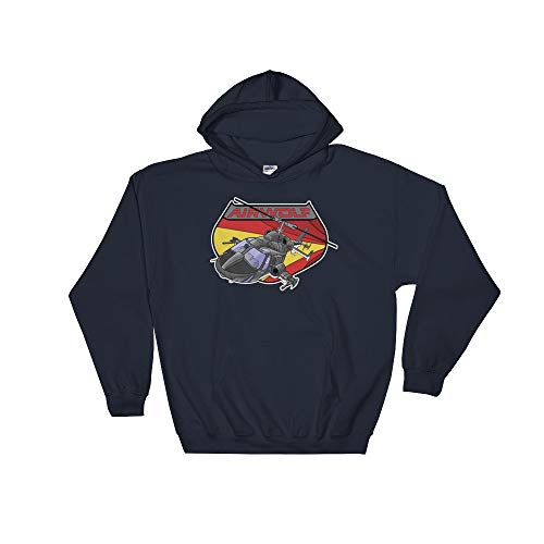 Airwolf Retro 80s Super Helicopter TV Series Hoodie Kapuzenpullover - Tv-serien-hawk