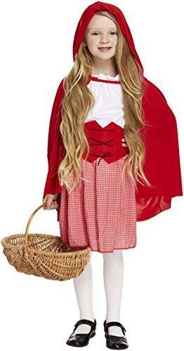 Mädchen 4 Stück Rotkäppchen Buch Tag Woche Märchen Halloween Kostüm Kleid Outfit 4-12 jahre - EU (Halloween Kostüme 10 Top)
