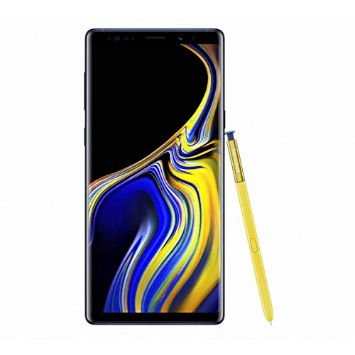 Samsung Galaxy Note9 Smartphone, Blu (Ocean Blue), Display 6.4', 128 GB Espandibili, Dual SIM [Versione Italiana]