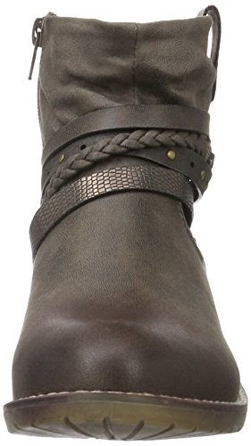 Jane Klain - Stiefelette, Stivali a metà gamba con imbottitura pesante Donna Marrone (Braun (310 torf))