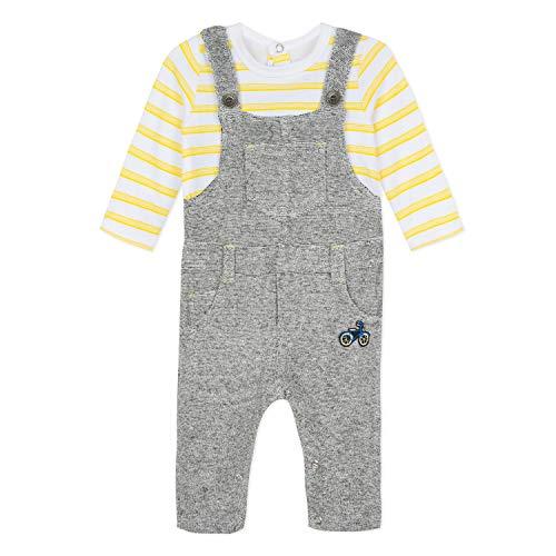 Catimini Cn32010, Pantalones Peto Bebé-Niños, Gris