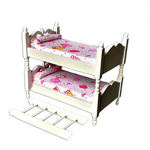 ppenhaus Schlafzimmer Doppelbett Möbel Set für Kinder, die Hausdekoration Spielen ()
