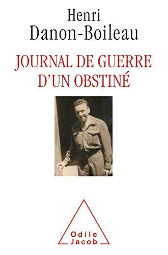 Journal de guerre dun obstin
