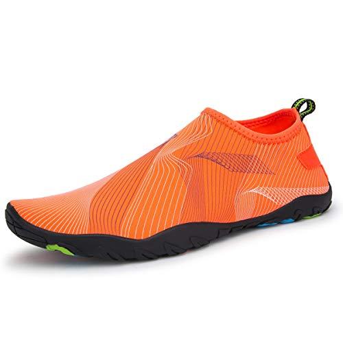 Haley Scarpe da Spiaggia Scarpe da Nuoto Scarpe morbide e Traspiranti Arrampicata Alpinismo Scarpe da Corsa Scarpe Multiuso Nuove (Colore : A1, Dimensioni : 41EU/7UK)