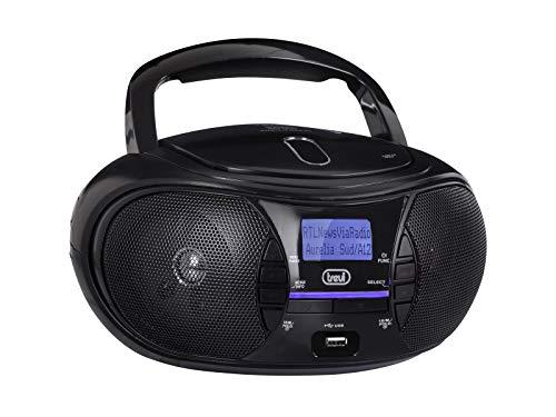 Trevi CMP 581 DAB Stereo Portatile con Radio DAB, USB, CD, Mp3, USB