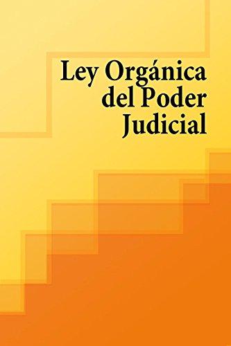 Ley Organica del Poder Judicial por España