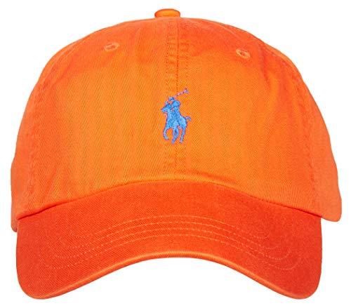 Ralph Lauren Polo Herren Baseball Classic Cap Sport, Orange, One Size (Lauren Polos Ralph)