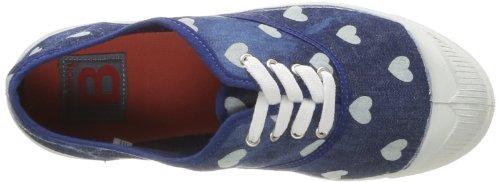Bensimon Tennis Bleachylove Damen Sneaker Blau - Bleu (Bleu 532)