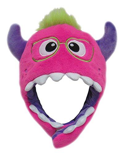 ch Kinder Erwachsene Karneval Halloween Wintermütze Jungen Mädchen Kindermütze 8960 (Monster Uni Kostüme)