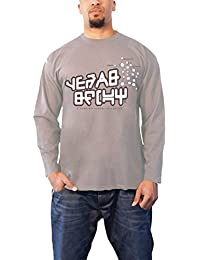 Guardians of the Galaxy T Shirt Star Lord offiziell Herren Nue Grau Long Sleeve