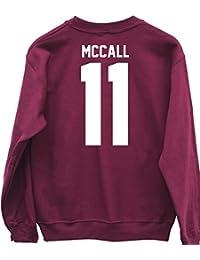 HippoWarehouse MCCALL 11 (Impreso en la Espalda) Jersey Sudadera suéter Derportiva Unisex