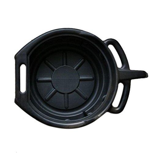 Semoic 7.5L Serbatoio dell'olio di plastica scolo vaschetta Olio Motore collettore Serbatoio Olio di scolo vassoietto per Riparazione Auto Carburante Cambio Fluido Strumento G