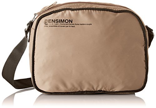 Bensimon - Small Besace, Borse a tracolla Donna Beige