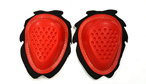 Paio di ginocchiere per moto, di alta qualità -, Red
