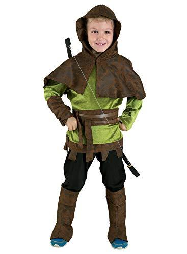 Unbekannt Aptafêtes-Robin Hood-Größe 4-cs37404/4Jahre (Schurke Themen Kostüm)
