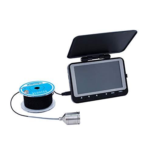 YRODYU Fischfinder, Unterwasser-Monitor Visuelles HD Videokamera Fisch Ankern Wasserdicht IP68 Sonden Zum Nacht- Boot Kajak Köder Kanu See Meer Angeln (Gps-handheld Lowrance)