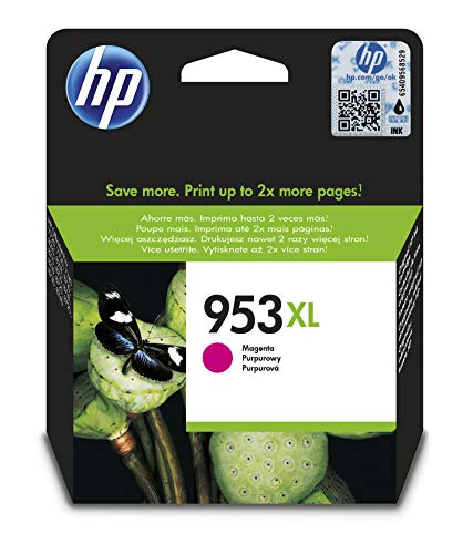 HP 953XL Magenta Original Druckerpatrone mit hoher Reichweite für HP Officejet Pro 8210, 8710, 8720, 8730, 8740