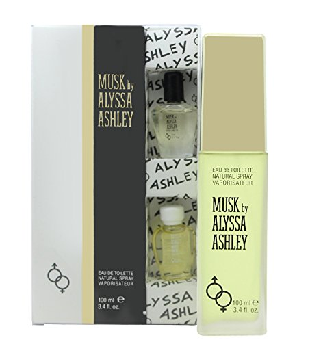 Alyssa Ashley Musk Confezione Regalo 100ml EDT + 5ml Musk Perfume Oil + 5ml White Musk Perfume Oil