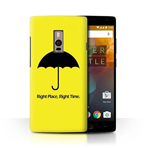 Stuff4 - Funda para teléfono móvil, 1 Plus-CC, Divertida colección de televisión Sitcom, Umbrella/Quote, OnePlus 2/Two