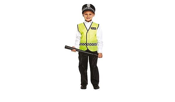Garçons Policier Policier Flic Livre Semaine Fancy Dress Costume