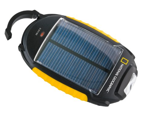 National Geographic 9060000 - Caricabatterie a energia solare 4 in 1