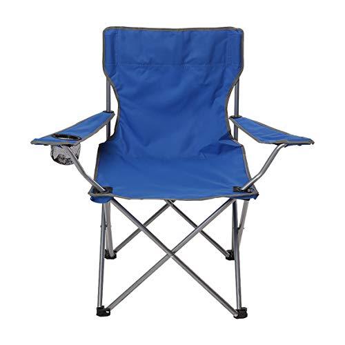 BFQY FH Chaise Pliante Extérieure, Accoudoir Multifonctionnel, Chaise De Pêche, Chaise De Plage Décontractée pour Barbecue, Trois Couleurs en Option (44 × 44 × 80 Cm) (Couleur : Sky Blue)