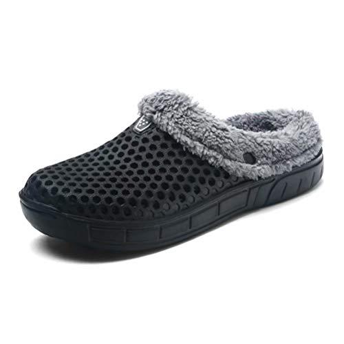 HangFan Zuecos mujeres hombres Zuecos zapatos jardín
