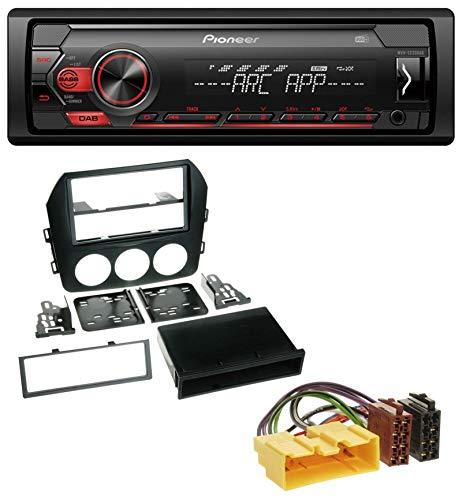 RX8 MX-5 2006+ vhbw Aux Adapter Kabel KFZ Radio für Auto Mazda Mazda 3 6 z.B