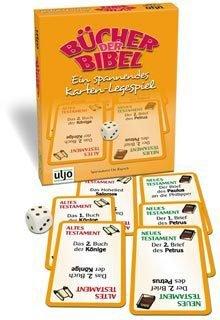 """//1222 Kartenspiel """"Bücher der Bibel"""" (in gelbem Spielkarton)"""